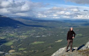 Hiking in Oppdal central Norway